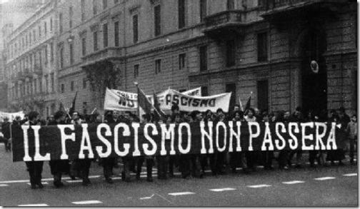 Il fascismo non passera