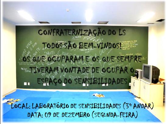 DIVULGAÇÃO CONFRATERNIZAÇAO TODOS SAO BEM VINDOS