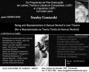 gontarski beckett 19 de agosto