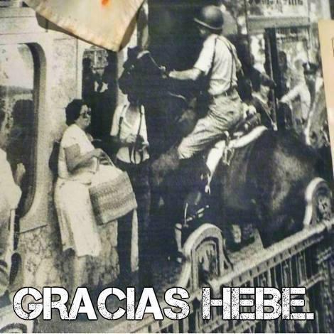 gracias, Hebe